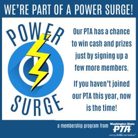 1 Power Surge Local PTA Graphic